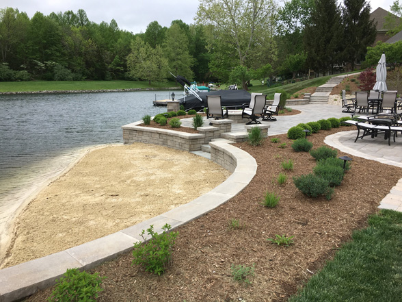 Inground pools jmt landscape outdoor living contractor for Inground pool contractors