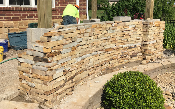 Fantastic Retaining Wall Patio Ideas Model - Wall Art Collections ...